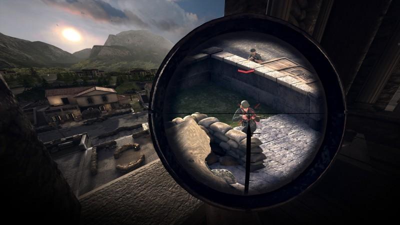 Опубликованы скриншоты для Sniper Elite VR