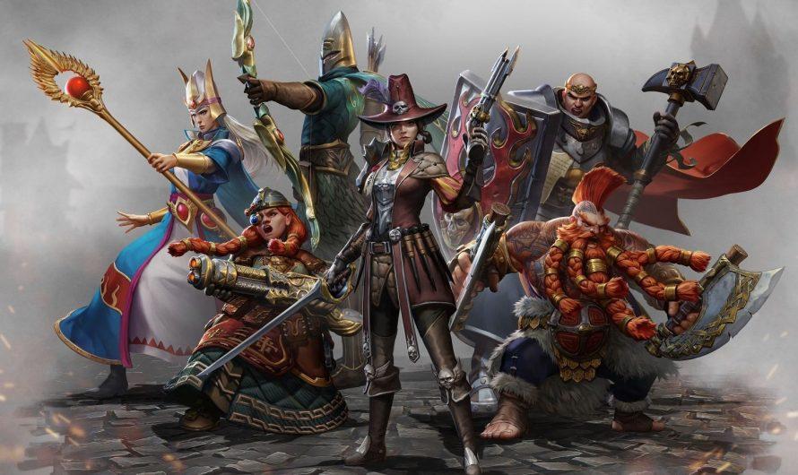 Демонстрация боевой системы в Warhammer: Odyssey