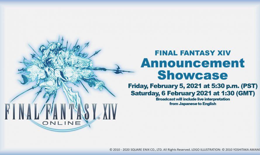 Final Fantasy XIV Announcement Showcase пройдет 6 февраля