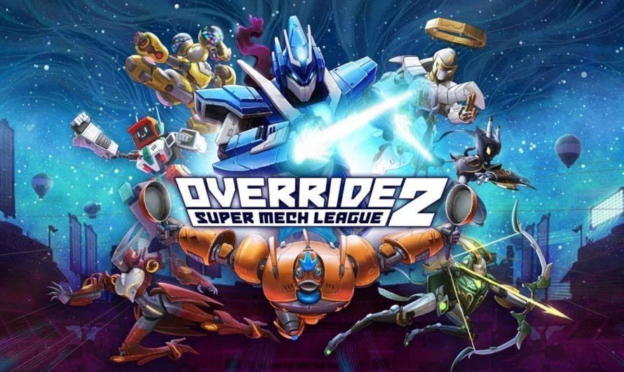 Ролик с демонстрацией Ultraman Season Pass для Override 2: Super Mech League