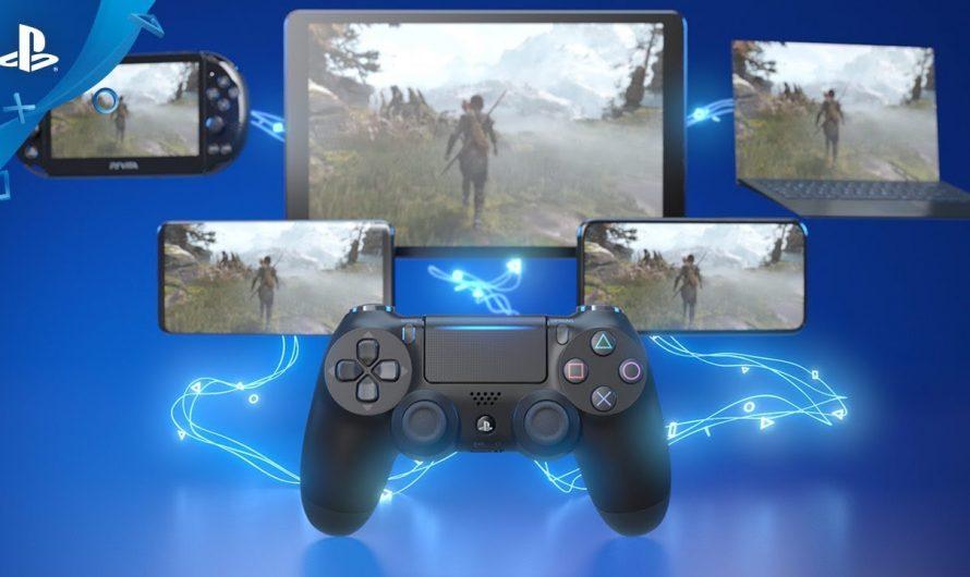 Remote Play позволяет играть с DualShock 4 в играх для PS5