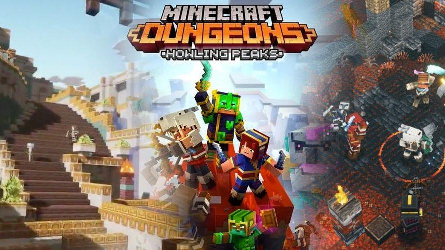 Дополнение Howling Peaks для Minecraft Dungeons выйдет 9 декабря