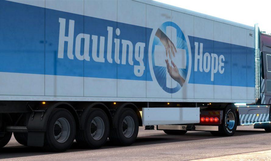 В Euro Truck Simulator 2 и American Truck Simulator стартовало мероприятие Hauling Hope