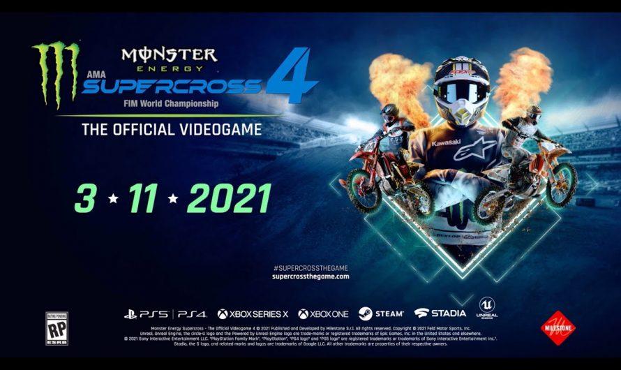 Релиз Monster Energy Supercross 4 состоится 11 марта